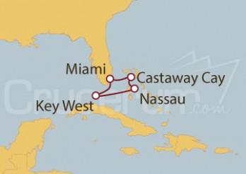 Crucero EE.UU., Bahamas