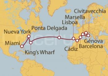 Crucero De Génova (Italia) a Miami