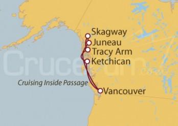 Crucero Alaska: Pasaje interior