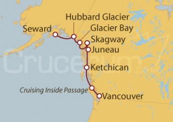 Crucero Vancouver (Canadá), Alaska y EEUU