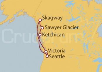Crucero EEUU y Alaska