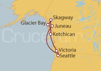 Crucero Seattle (EEUU) y Alaska