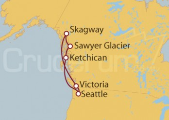 Crucero Alaska desde Seattle (EE UU)