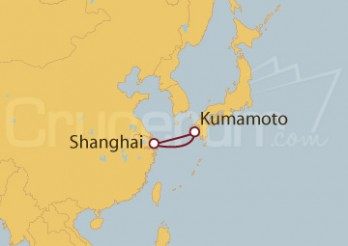 Crucero Shanghai (China), Kumamoto