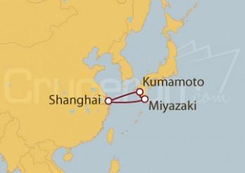 Crucero Shanghai (China), Japón