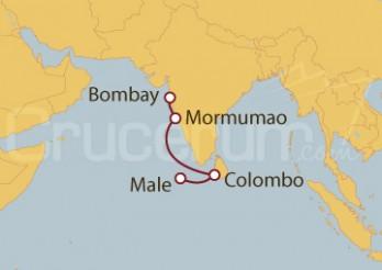 Crucero Maldivas, Sri Lanka e India