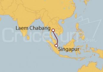 Crucero Bangkok (Tailandia)