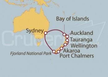 Crucero Nueva Zelanda