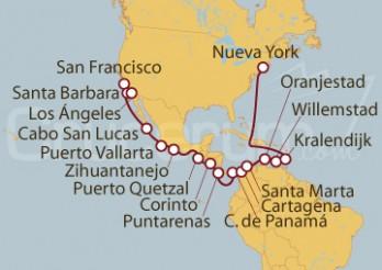 Crucero De San Francisco (EE UU) a Nueva York