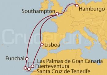 Crucero Islas Canarias y Madeira