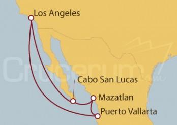 Crucero Los Ángeles (EEUU) y México