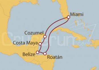 Crucero Caribe Oriental desde Miami (EE UU)