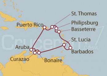 Crucero Caribe Sur desde San Juan (Puerto Rico)