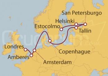Crucero De Londres (Inglaterra) a Estocolmo (Suecia)