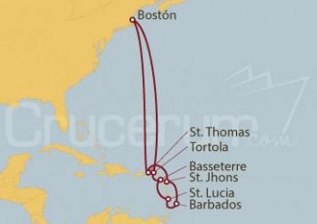 Crucero Southern Caribbean - Boston (BOS/BOS)