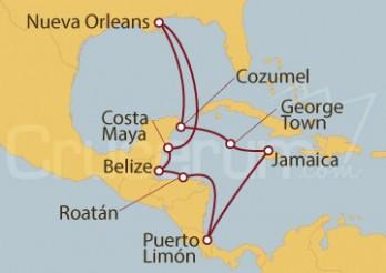 Crucero Western Caribbean - New Orleans (MSY/MSY)