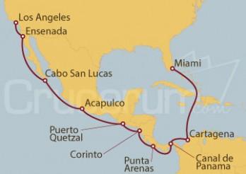 Crucero De Nueva York a Los Ángeles