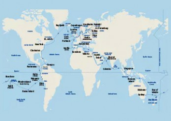 Crucero Vuelta al Mundo 2019 partiendo desde Brisbane (Australia)