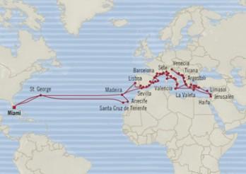 Crucero Vuelta al Mundo