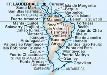 Crucero Vuelta al Mundo 2019