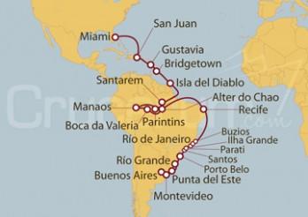 Crucero Desde Buenos Aires (Argentina) a Miami (EEUU)