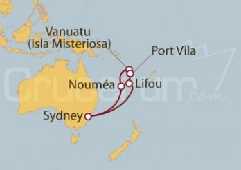 Crucero Nueva Caledonia y Vanuatu
