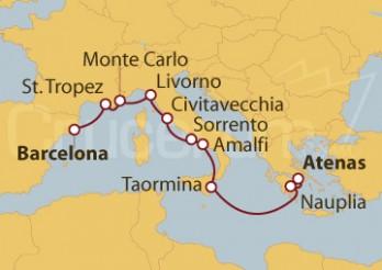 Crucero De Barcelona a Atenas (Grecia)