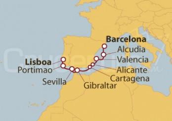 Crucero Península Ibérica desde Barcelona