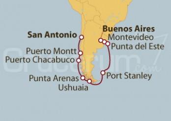 Crucero De San Antonio (Chile) a Buenos Aires (Argentina)