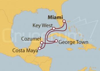Crucero Caribe Oeste