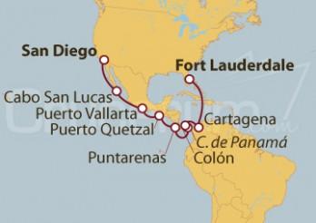 Crucero De Fort Lauderdale (EEUU) a San Diego (EEUU)