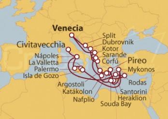 Crucero Adriático y Odisea Griega