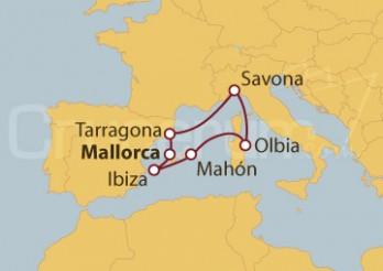 Crucero España, Italia