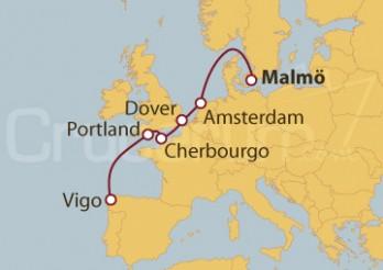 Crucero Del Mar del Norte a la Costa Atlántica