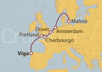 Crucero De Vigo (España) a Malmö (Suecia)