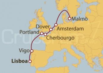 Crucero De la Costa Atlántica al Mar del Norte