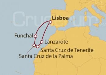 Crucero Madeira e Islas Canarias