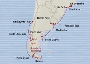 Crucero Celebraciones de Sudamérica