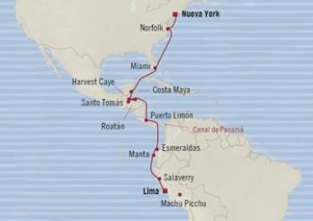 Crucero Conexión de las Américas