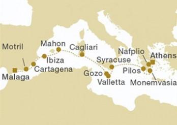 Crucero Sicilia y Grecia