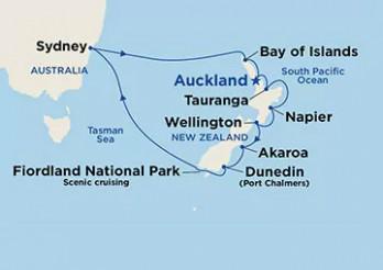 Crucero Nueva Zelanda y Australia