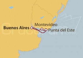 Crucero Argentina y Uruguay