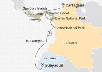 Crucero Descubrimiento de Panamá y Colombia