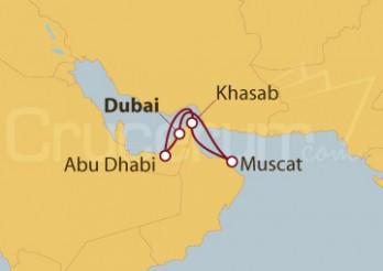 Crucero Dubai y Emiratos