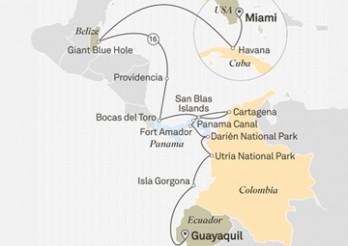 Crucero Tesoros del Caribe y Centroamericanos