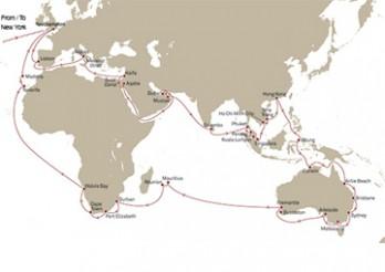 Crucero Vuelta al Mundo 2020 - Rumbo al lejano Oriente desde Nueva York