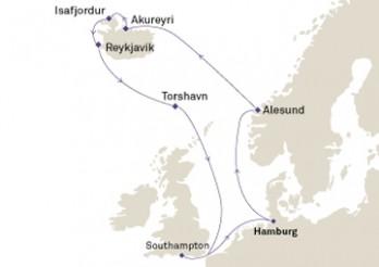 Crucero Islandia