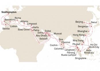 Crucero Vuelta al Mundo 2019 desde Hamburgo