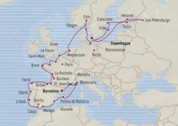 Crucero Tapiz Europeo