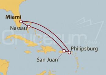 Crucero Caribe con vuelos incluidos desde Buenos Aires